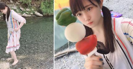 日本正妹偶像分享烤肉照 眼尖網友卻看到「超毛亮點」直接嚇壞:浮起來了