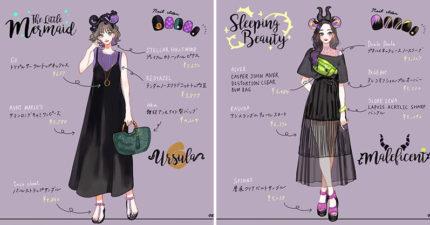 迪士尼情侶穿搭!「反派穿搭」神秘紫色邪氣滿滿 《阿拉丁》賈方變超美貴婦