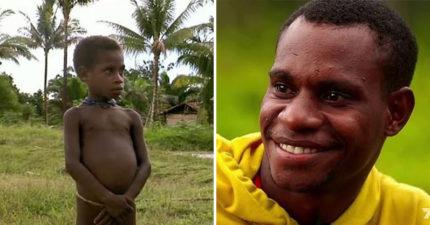他驚險逃離被吃掉命運 13年後回到「食人族部落」找當年想吃他的人