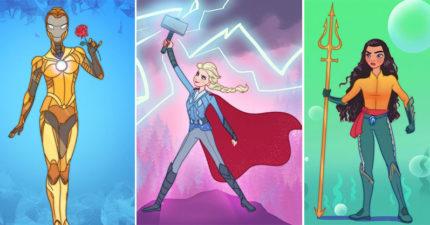 15個「當超級英雄」的迪士尼公主 她「沈睡太久」變美國隊長