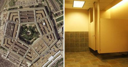 五角大廈廁所多到「閉眼都找得到」!數量比「需求多2倍」理由超瞎