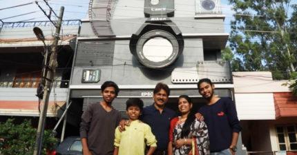 攝影狂粉把家改造成「巨型單眼」!3個兒子「名子都是相機」