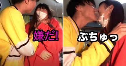 影/網紅挑戰「跟親妹接吻」畫面衝擊!「一起滾床」網看傻眼
