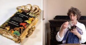 寫書「讓菇菇吃掉」再吃掉菇菇 生物學家為了賣書「顛覆食物鏈」