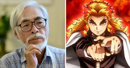 宮崎駿終於鬆口!認同「《鬼滅》是對手」聽劇情點頭:的確會紅