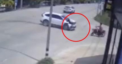 影/阿嬤「5分鐘內遇3車禍」 最後「整台貨車滑倒」逃不掉