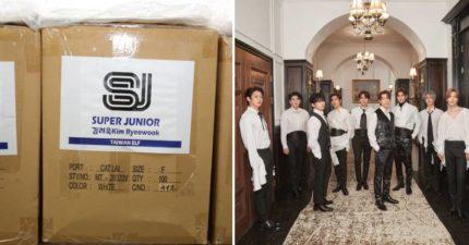 「韓天團SJ」疫情送暖?新竹消防局驚喜獲「千件隔離衣」致謝